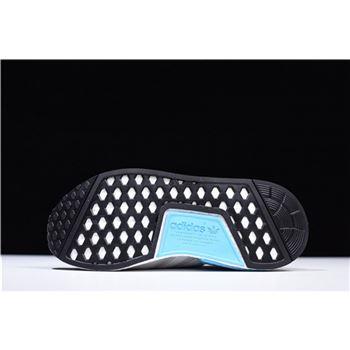 New Adidas Nmd R1 Runner Light Grey White Blue Men S And Women S